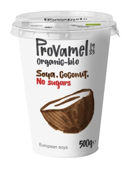 Soja-Jogurtalternative Kokos ohne Zucker, 500g