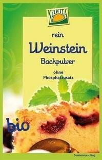 Weinsteinbackpulver, 25,5g