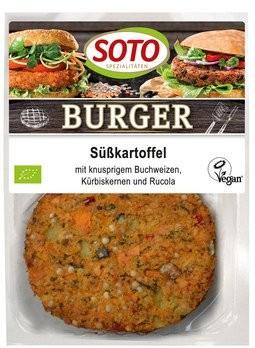 Burger Süßkartoffel 2St, 160g