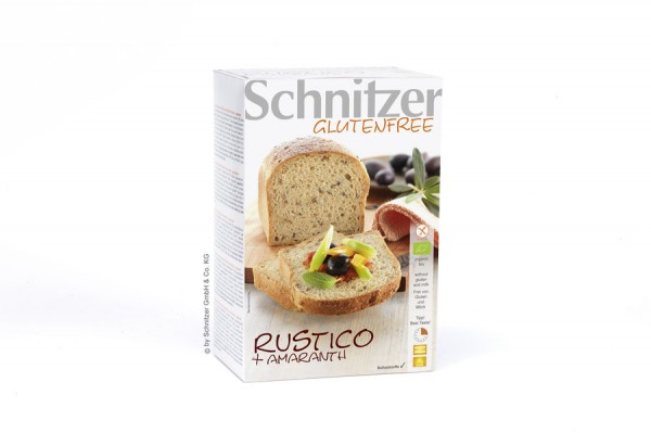 Aufbackbrot Rustico mit Amaranth glutenfrei, 500g