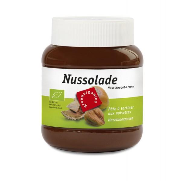 Nuss-Nougatcreme Nussolade, 400g