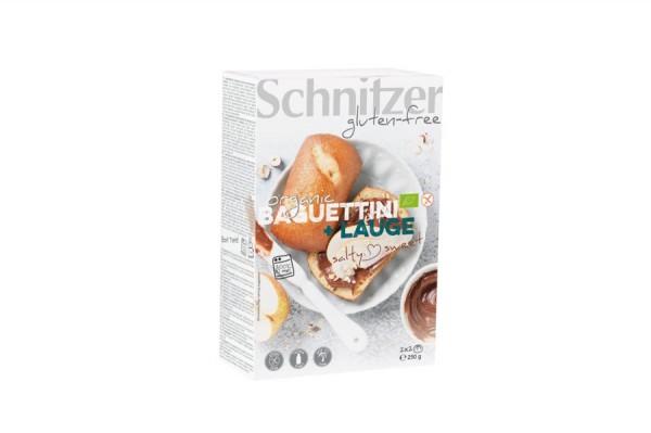 Baguettini Lauge glutenfrei 2x2St, 250g