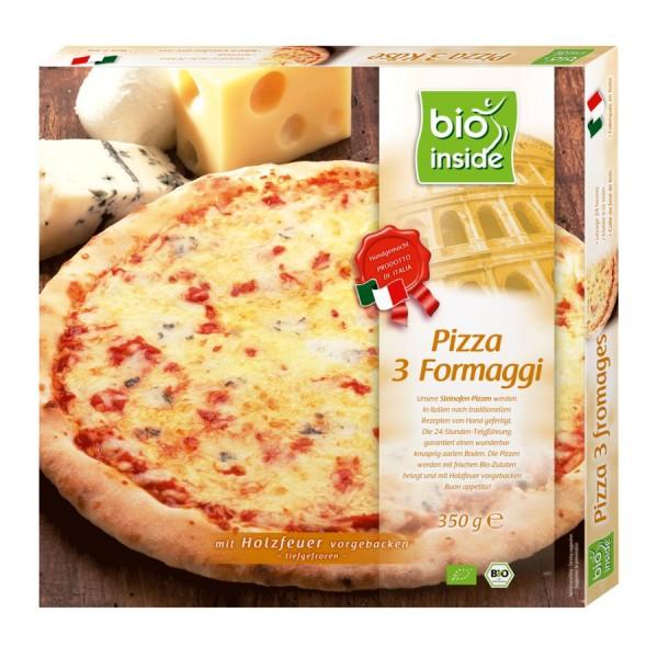 TK-Pizza 3 Formaggi bio inside, 350g