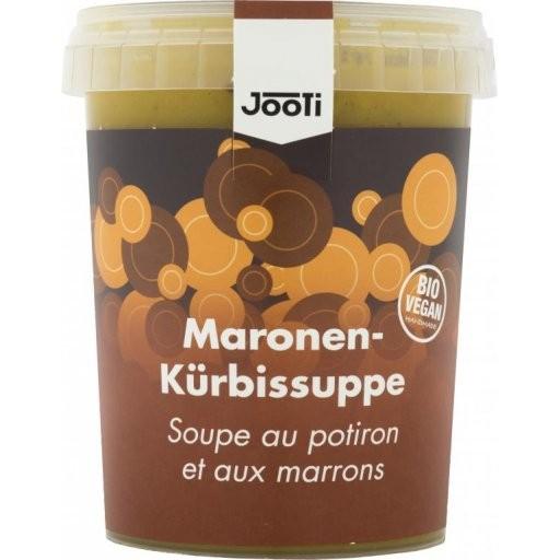 Frische Maronen-Kürbis-Suppe vegan, 450g