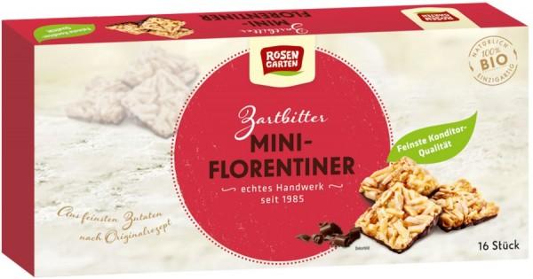 Mini-Florentiner eckig mit Zartbitterschokolade, 125g