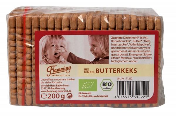 Dinkel-Butterkeks, 200g