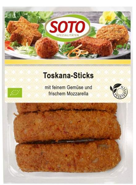 Toscana-Sticks mit Gemüse & Mozzarella 5St, 175g