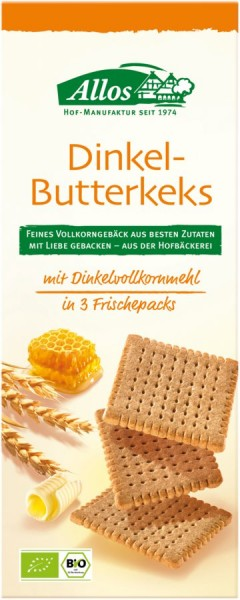 Dinkel-Butterkeks, 150g