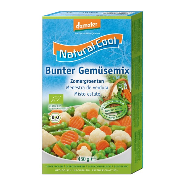 TK-Gemüse-Mix bunt DEMETER, 450g