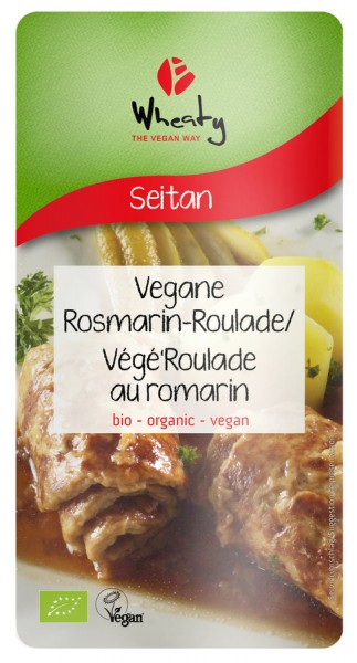 WHEATY Veganbratstück Rosmarin-Roulade, 175g