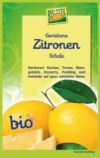 Zitronenschalen gerieben, 11g