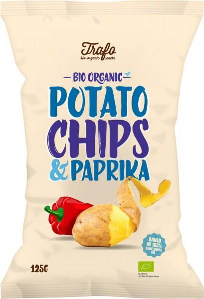 Kartoffelchips mit Paprika, 125g