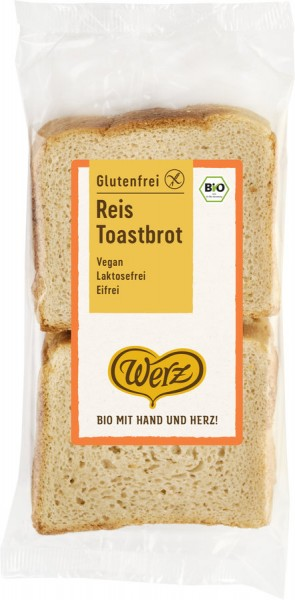Reis-Toastbrot glutenfrei geschnitten, 250g