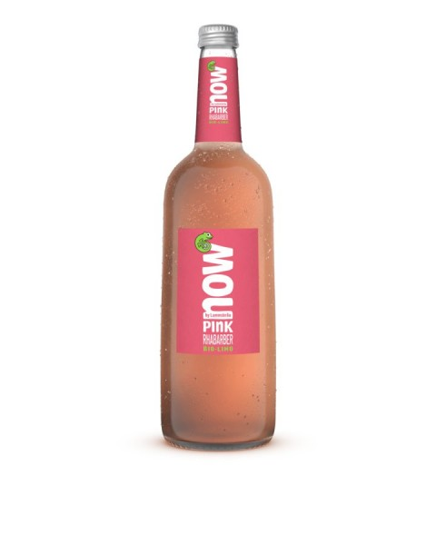 NOW Pink Rhabarber glutenfrei, 0,75l