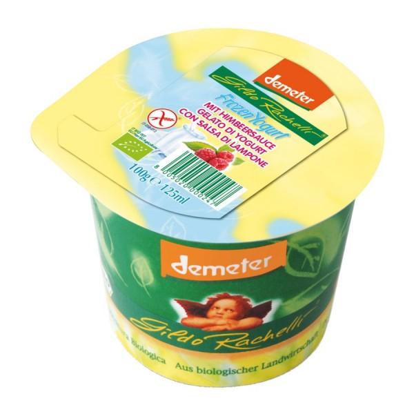 Eisbecher Jogurt-Himbeersauce DEMETER, 125ml