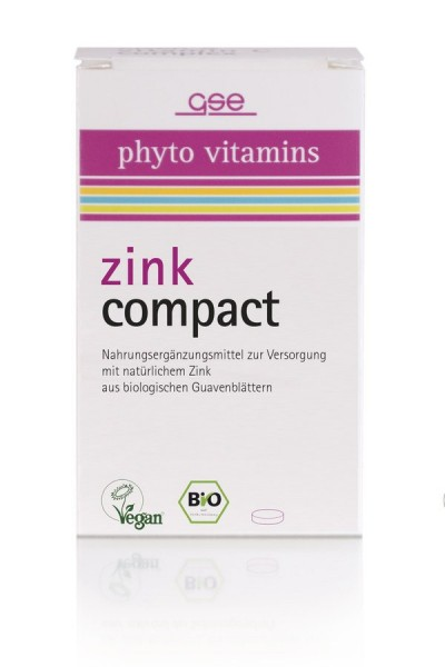Zink Compact 500mg | 60St, 30g