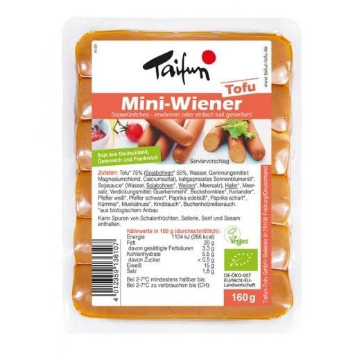 Tofu-Mini-Wiener 6St, 160g