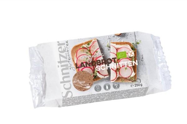 Landbrot traditionell glutenfrei geschnitten, 250g