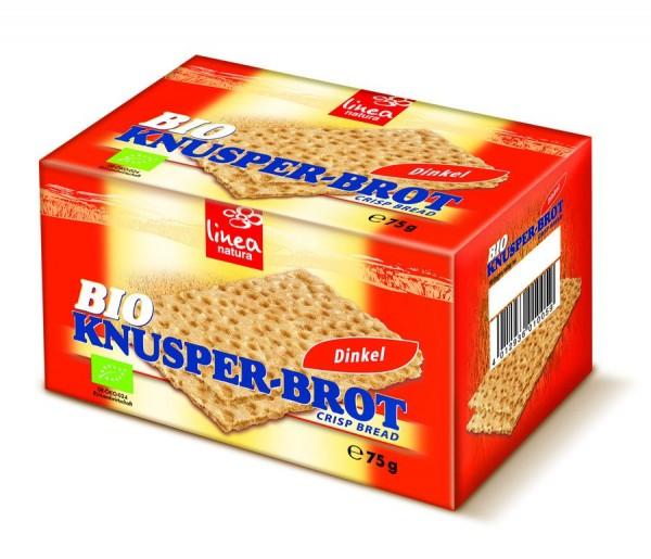 Dinkel Knusperbrot, 75g