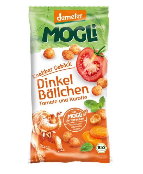 Dinkel-Bällchen Tomate & Karotte DEMETER, 40g